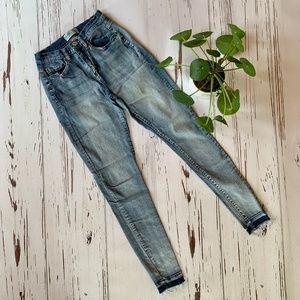 Mudd Faded Skinny Jeans, Size 3